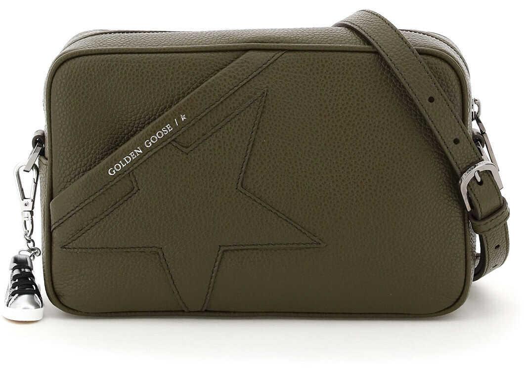 Golden Goose Crossbody Star Bag GWA00101 A000101 GREY imagine b-mall.ro