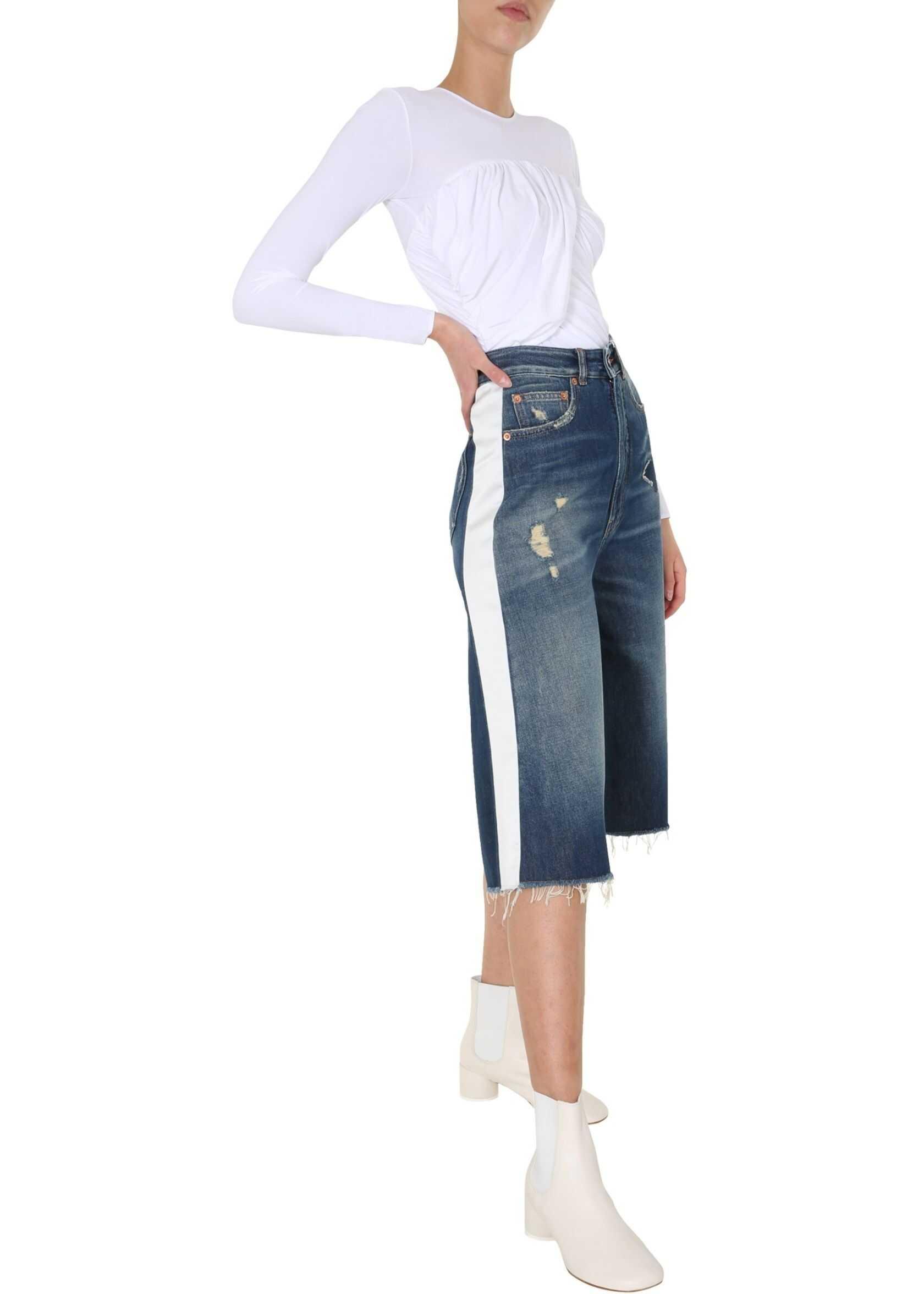 MM6 Maison Margiela Long Sleeved Bodycon* WHITE