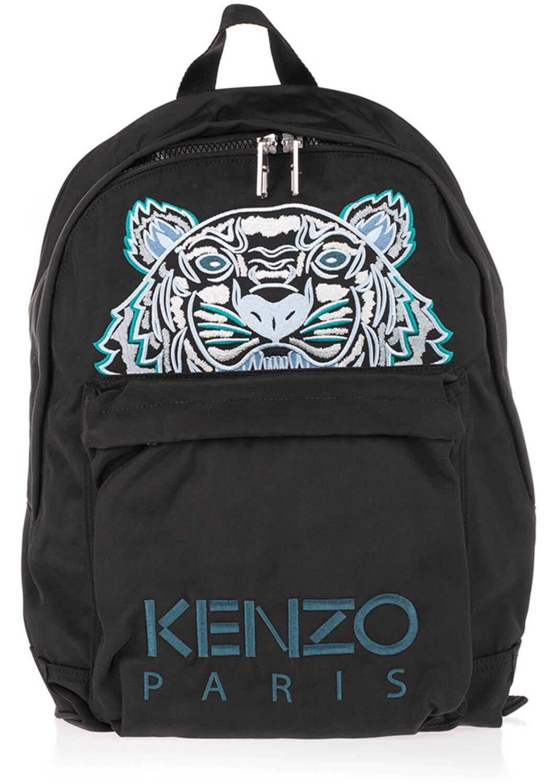 Kenzo Kampus Tiger Backpack In Black 5SF300 F20 99E Black imagine b-mall.ro