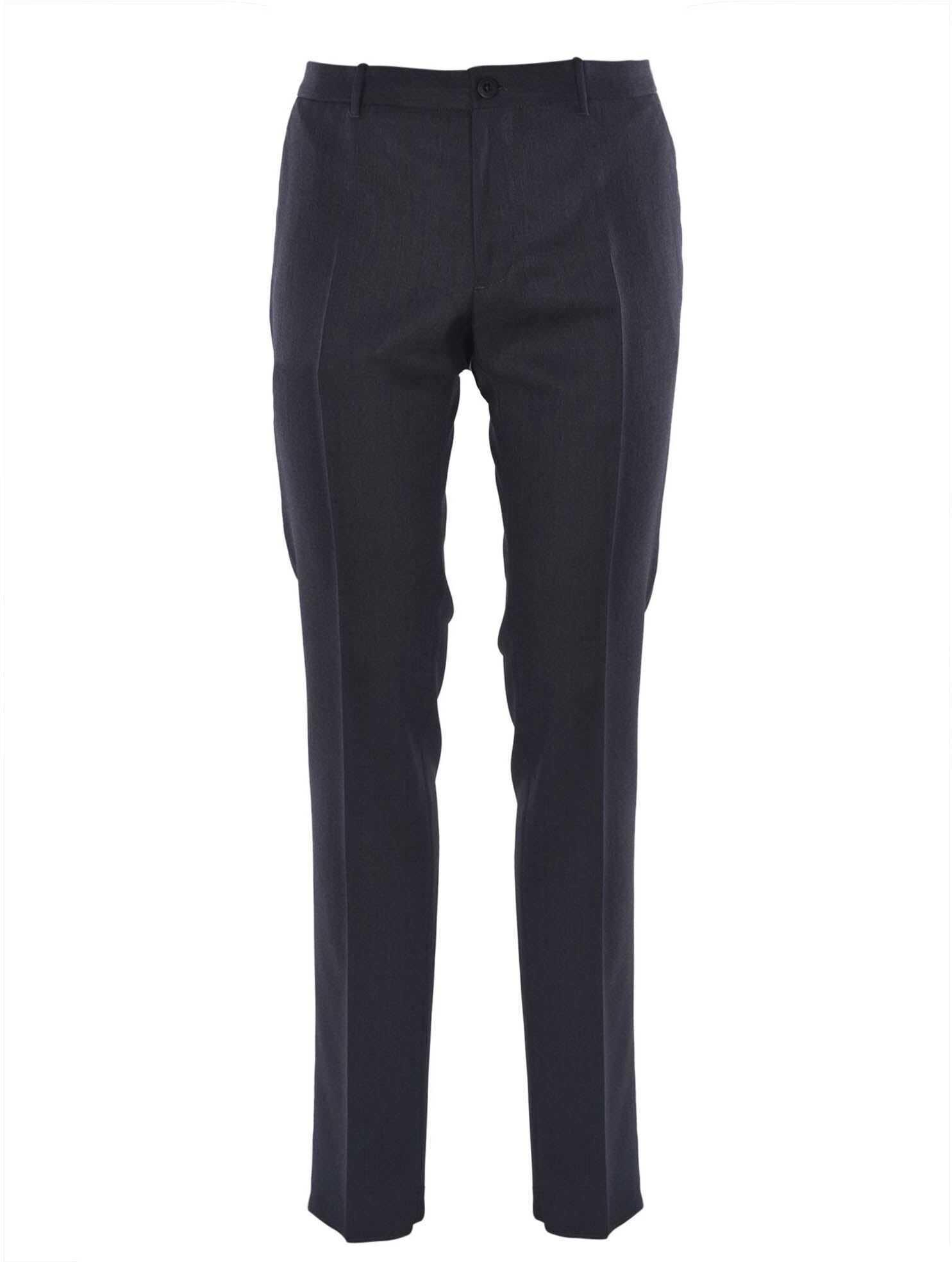 Incotex Grey Pants Grey imagine