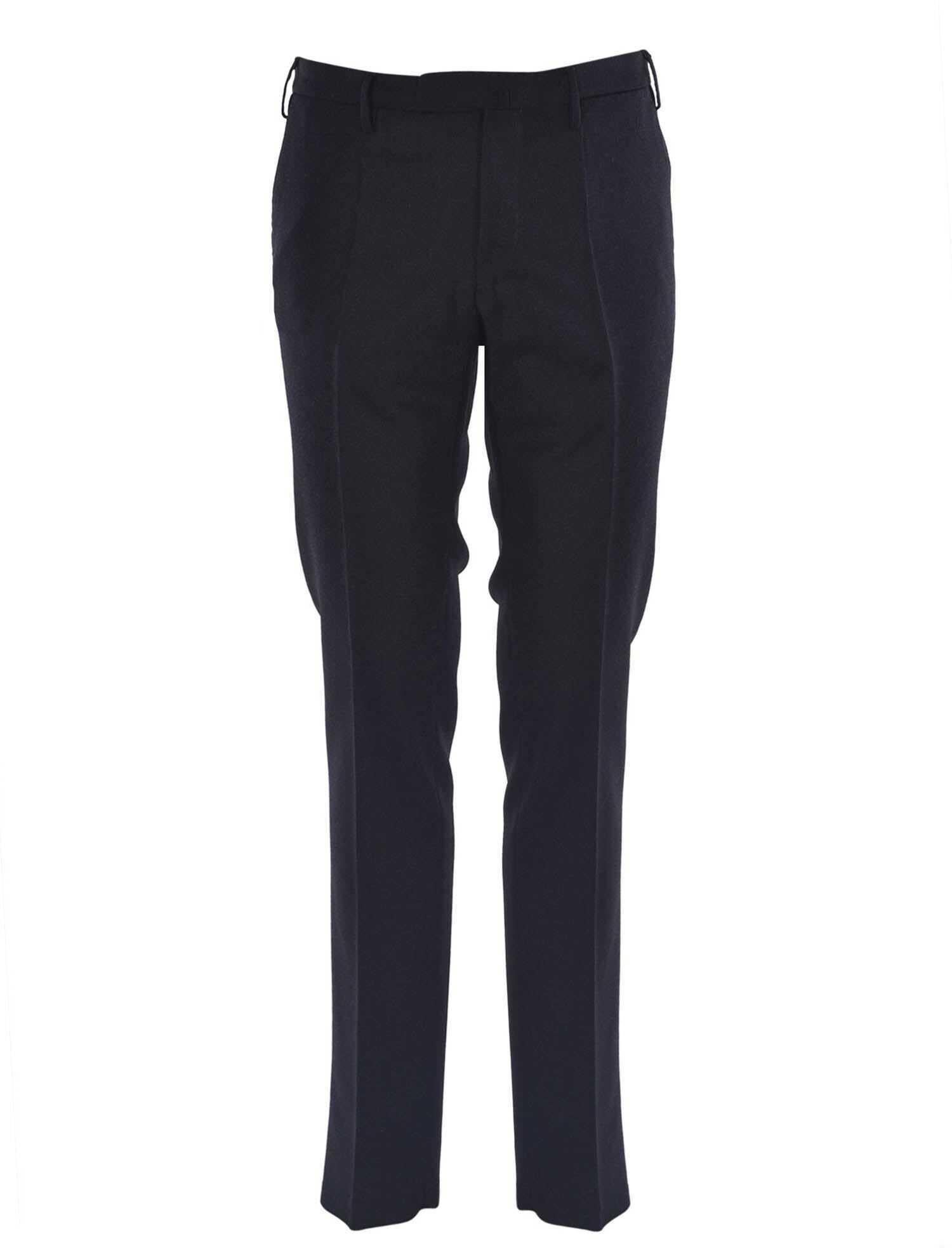 Incotex Slim Fit Partridge Eye Pants In Grey Grey imagine
