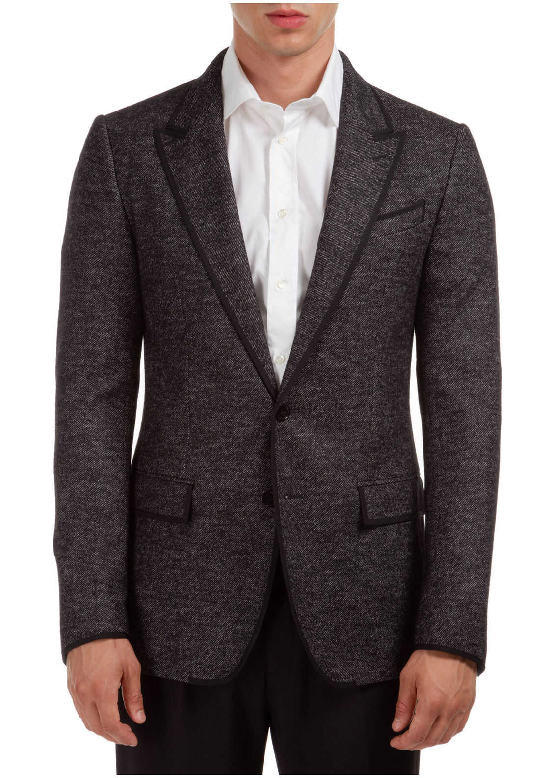 Dolce & Gabbana Jacket Blazer Grey imagine
