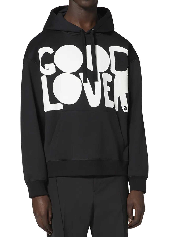 Valentino Garavani Good Lover Sweatshirt Black imagine