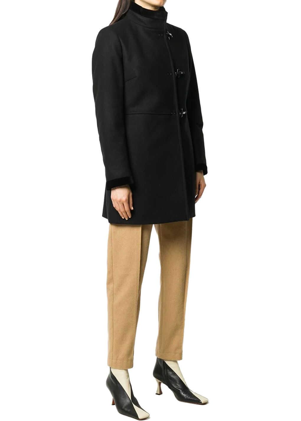 Fay Virginia Coat Black