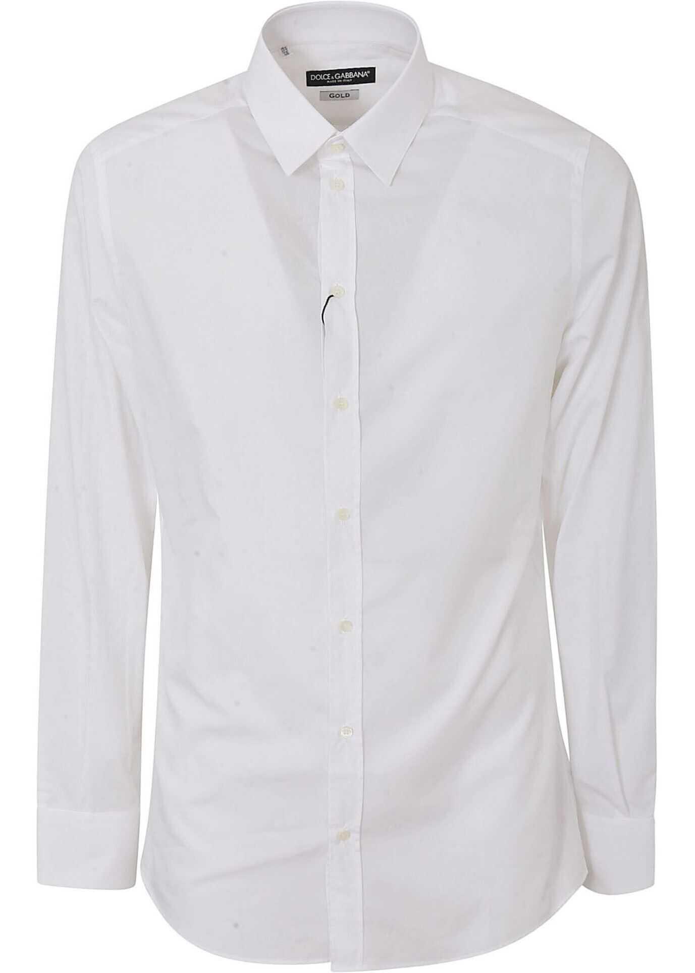 Dolce & Gabbana Classic Shirt In White White imagine