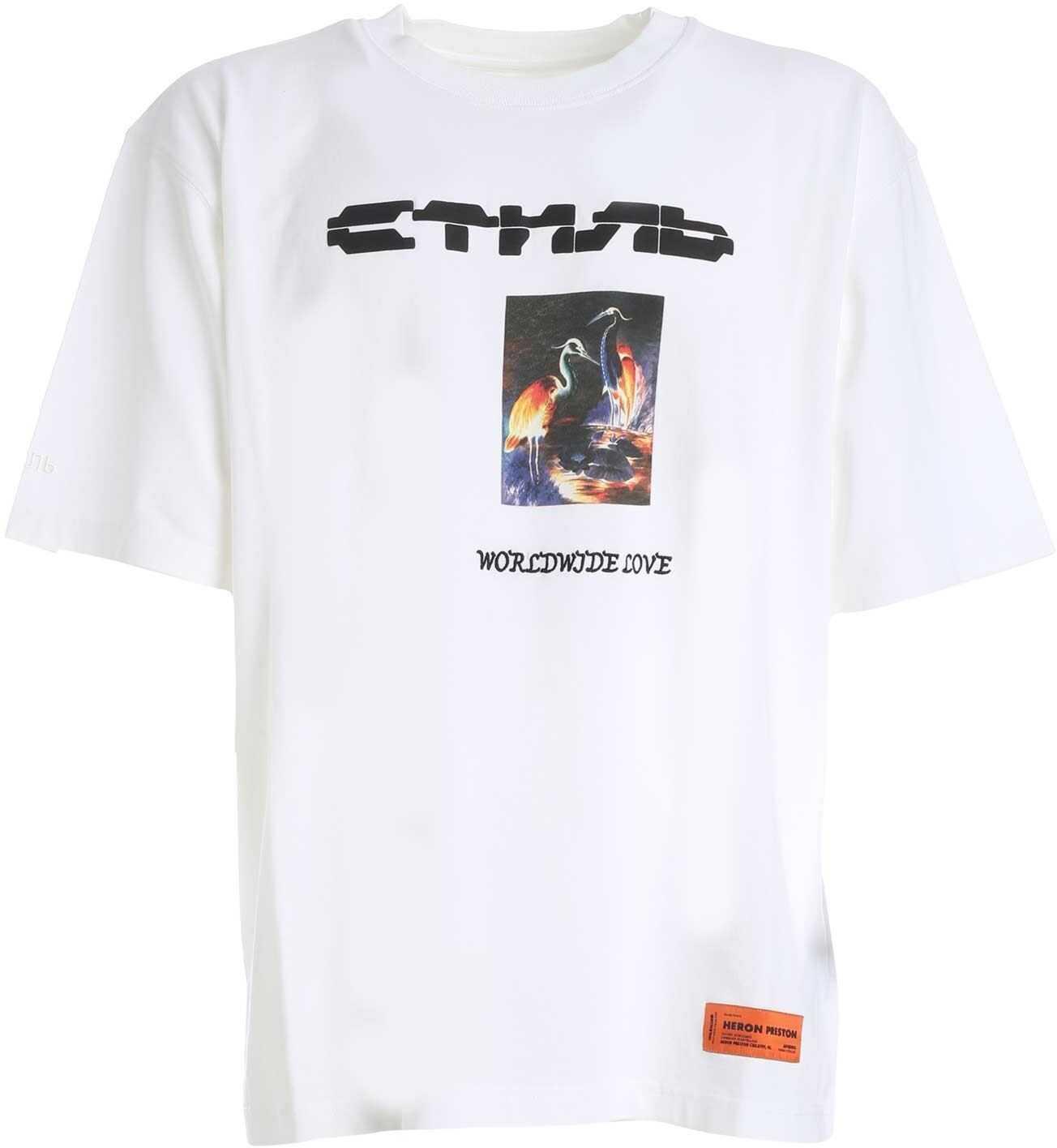 Wwl Heron T-Shirt In White