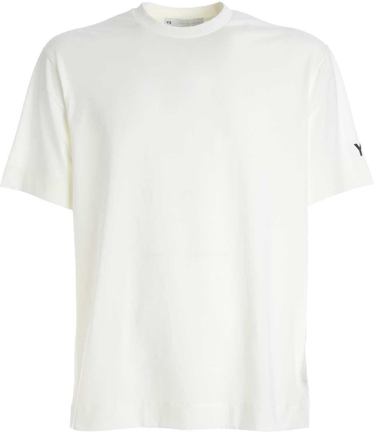 Y-3 Printed Gfx T-Shirt In White White