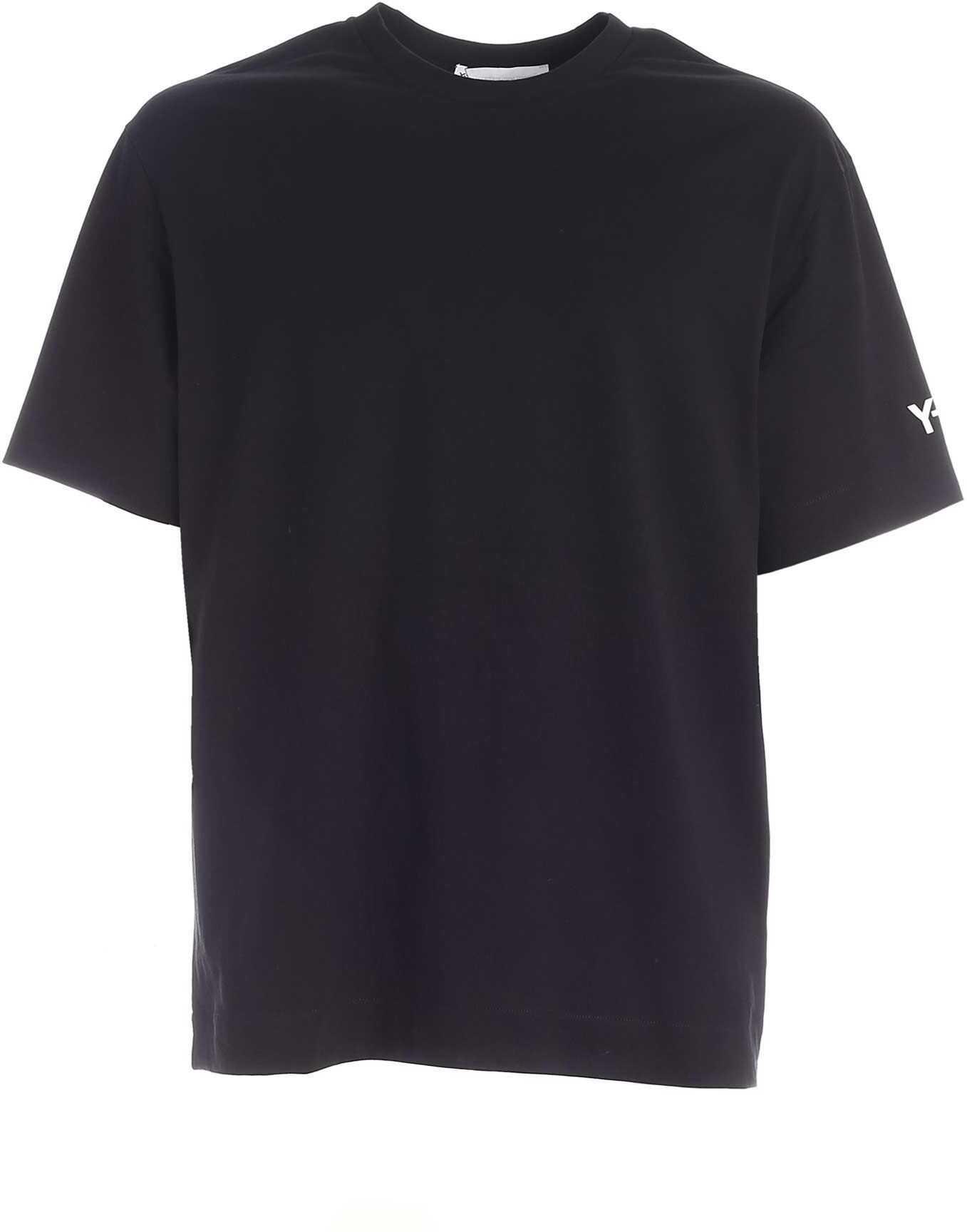 Y-3 Printed Gfx T-Shirt In Black Black