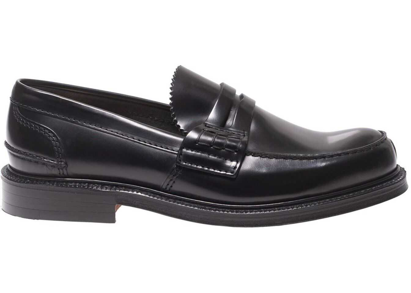 Willenhall Black Bookbinder Loafers