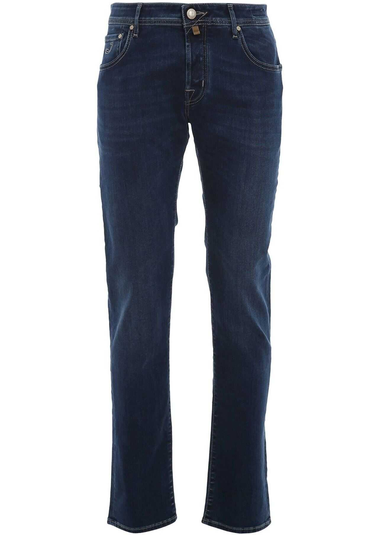 Jacob Cohen Style 622 Denim Jeans In Blue Blue imagine