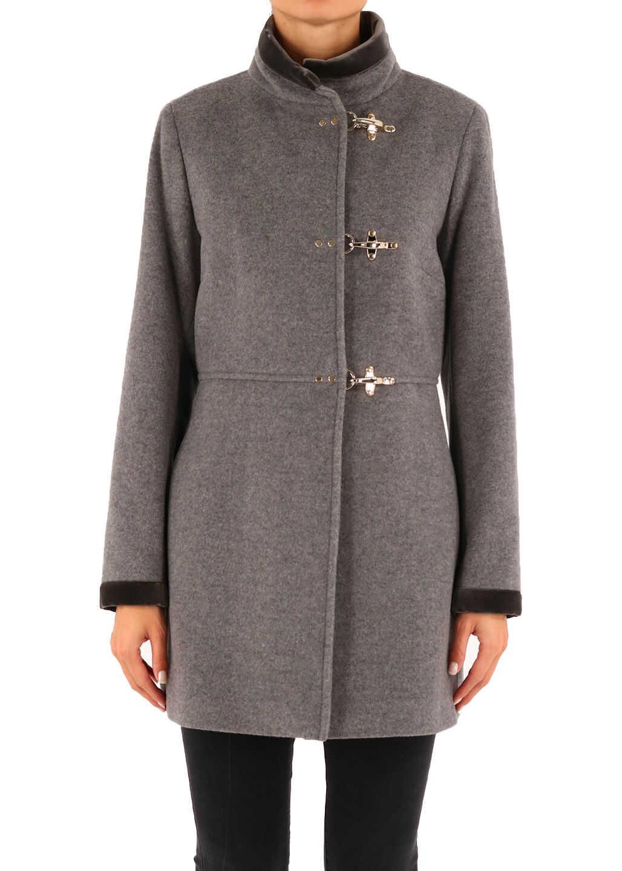 Fay Virginia Coat Gray Grey