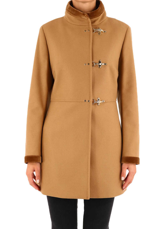 Fay Virginia Coat Camel Beige