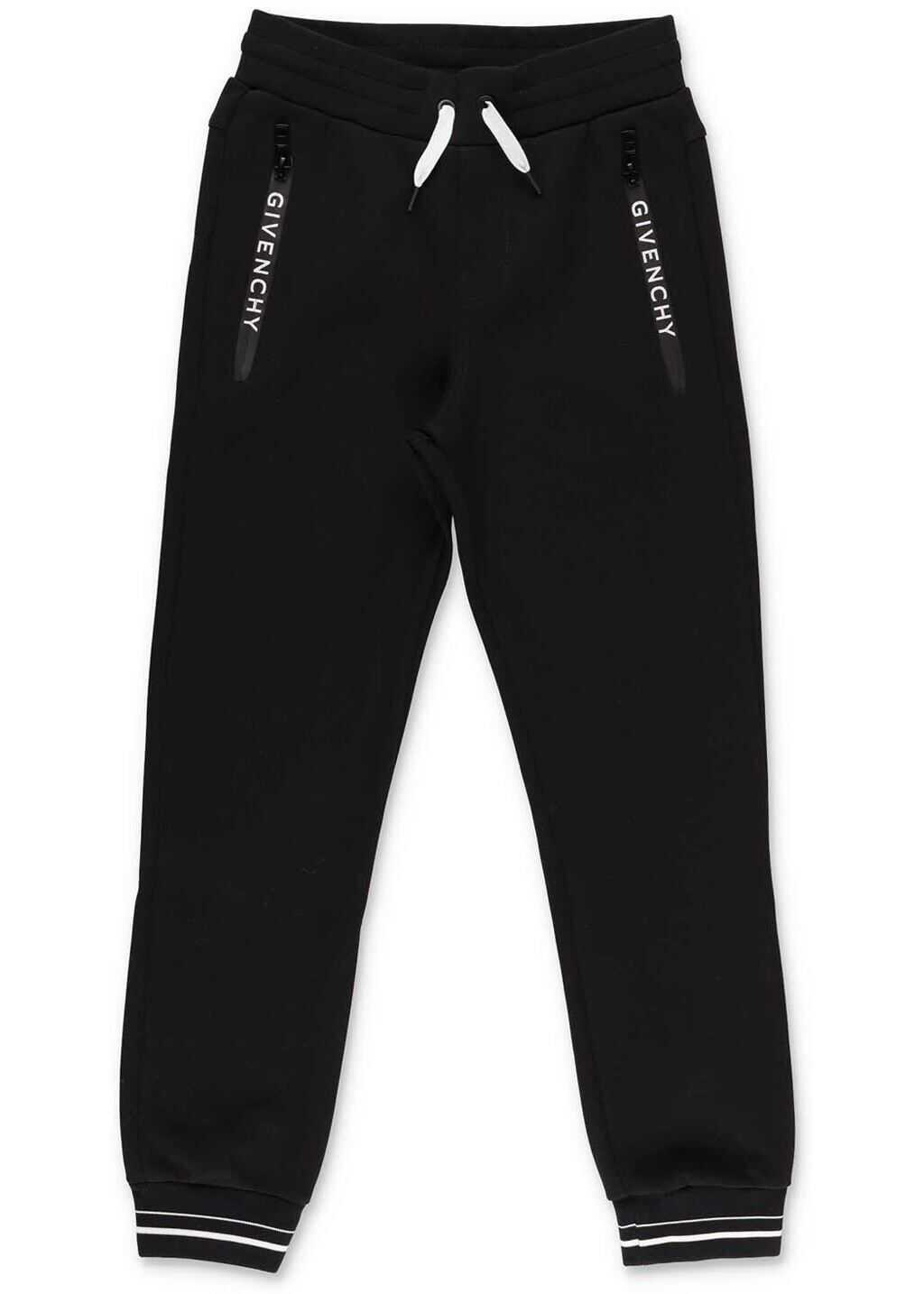 Givenchy Black Trackpants With Logo Black