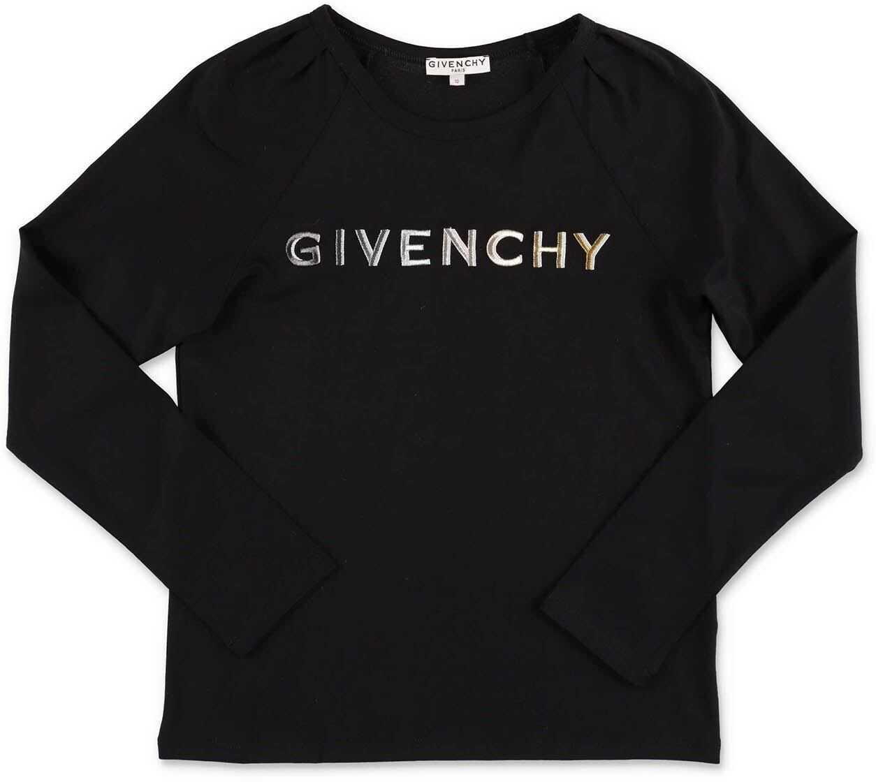 Givenchy Black Long Sleeve T-Shirt Black