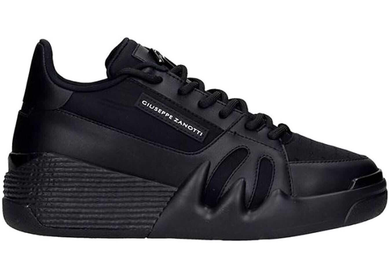 Giuseppe Zanotti Talon Sneakers In Black* Black