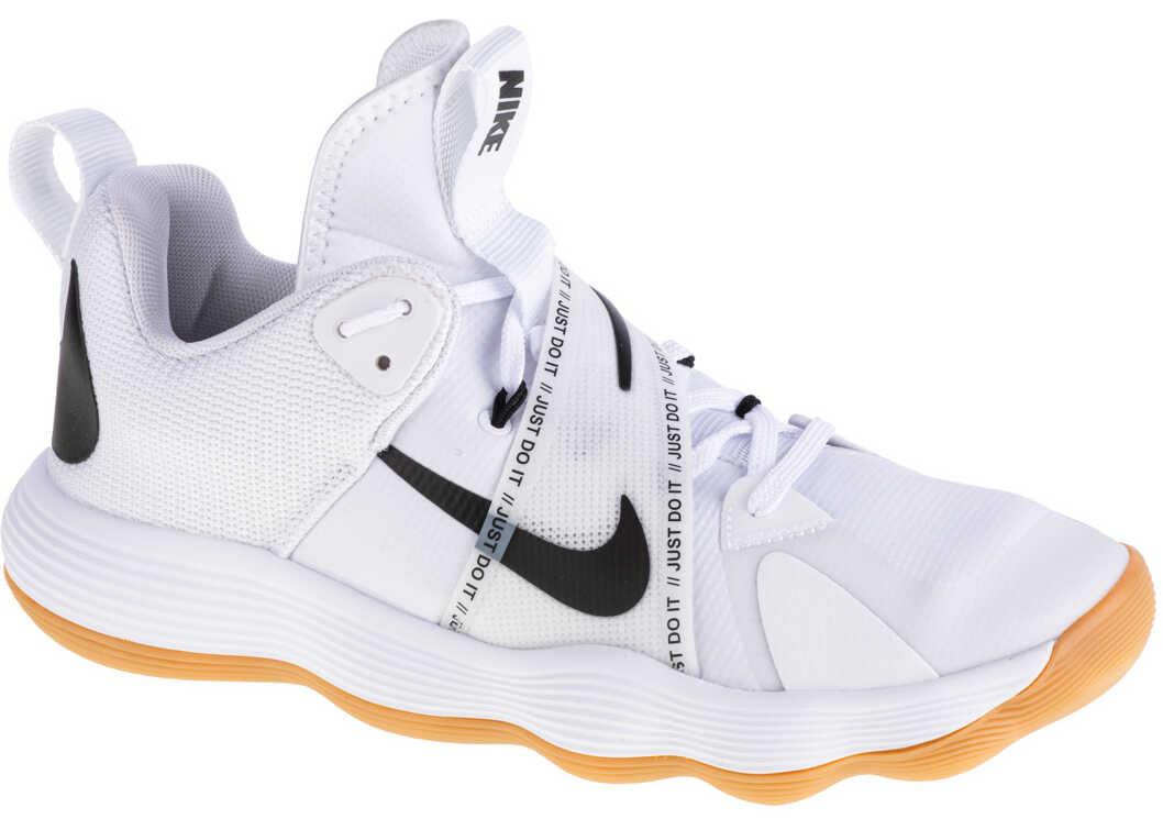 Nike React HyperSet White imagine b-mall.ro