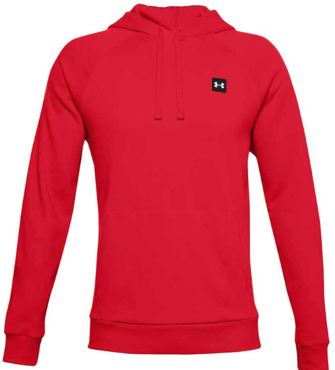 Under Armour Rival Fleece Hoodie Red imagine