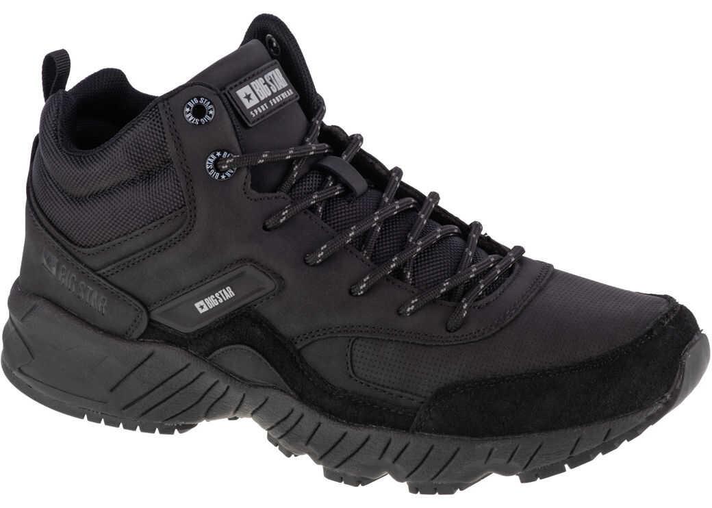 Big Star Trekking Shoes Black imagine b-mall.ro