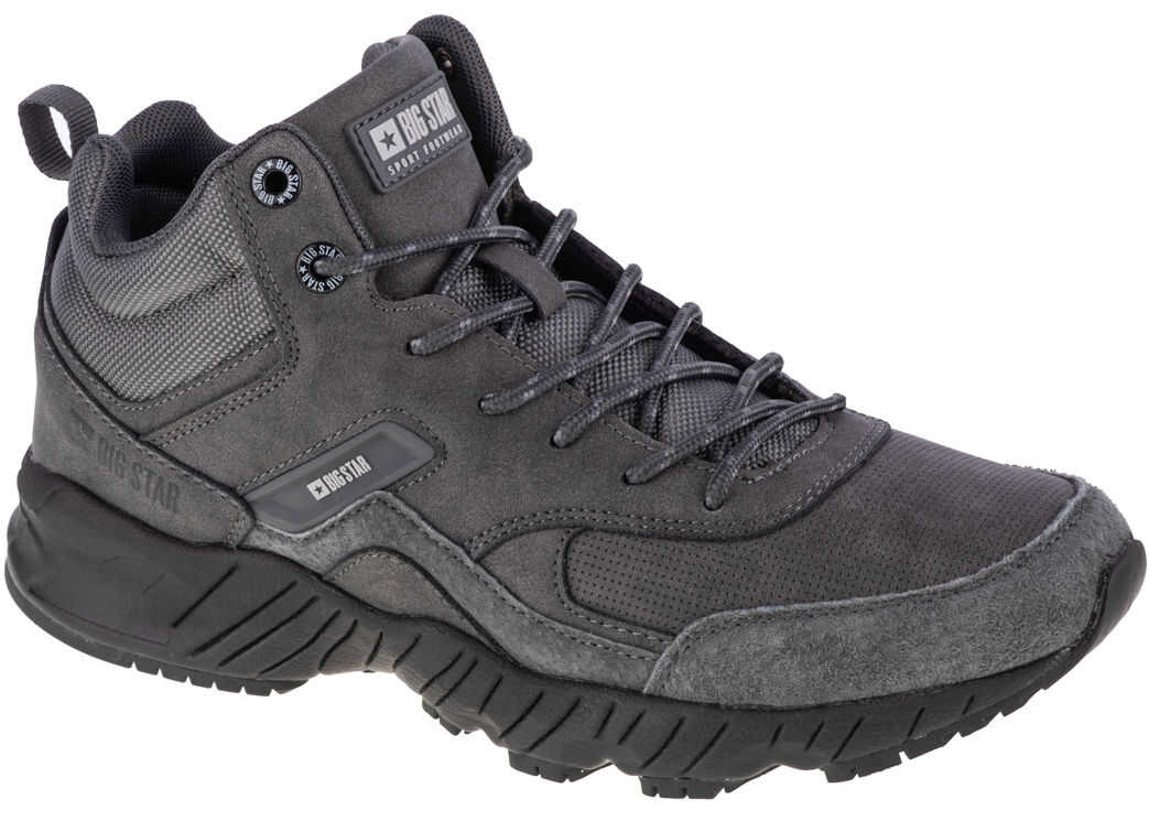 Big Star Trekking Shoes Grey imagine b-mall.ro