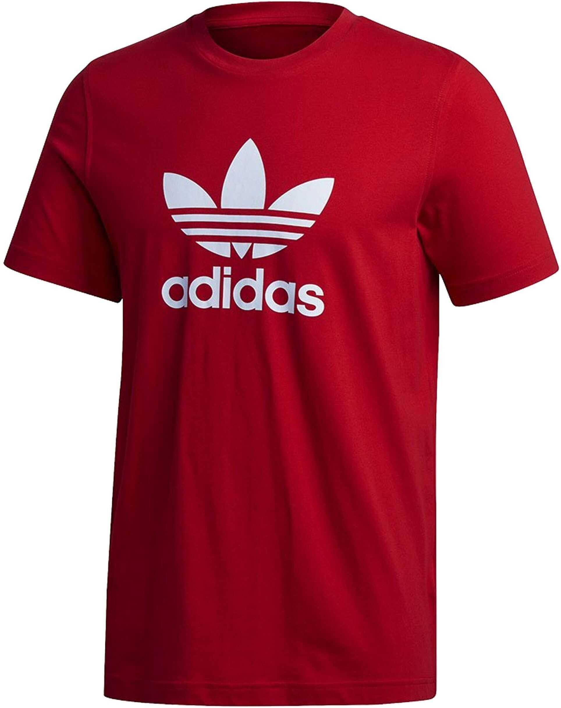 adidas Trefoil Tshirt Scarle Rosu