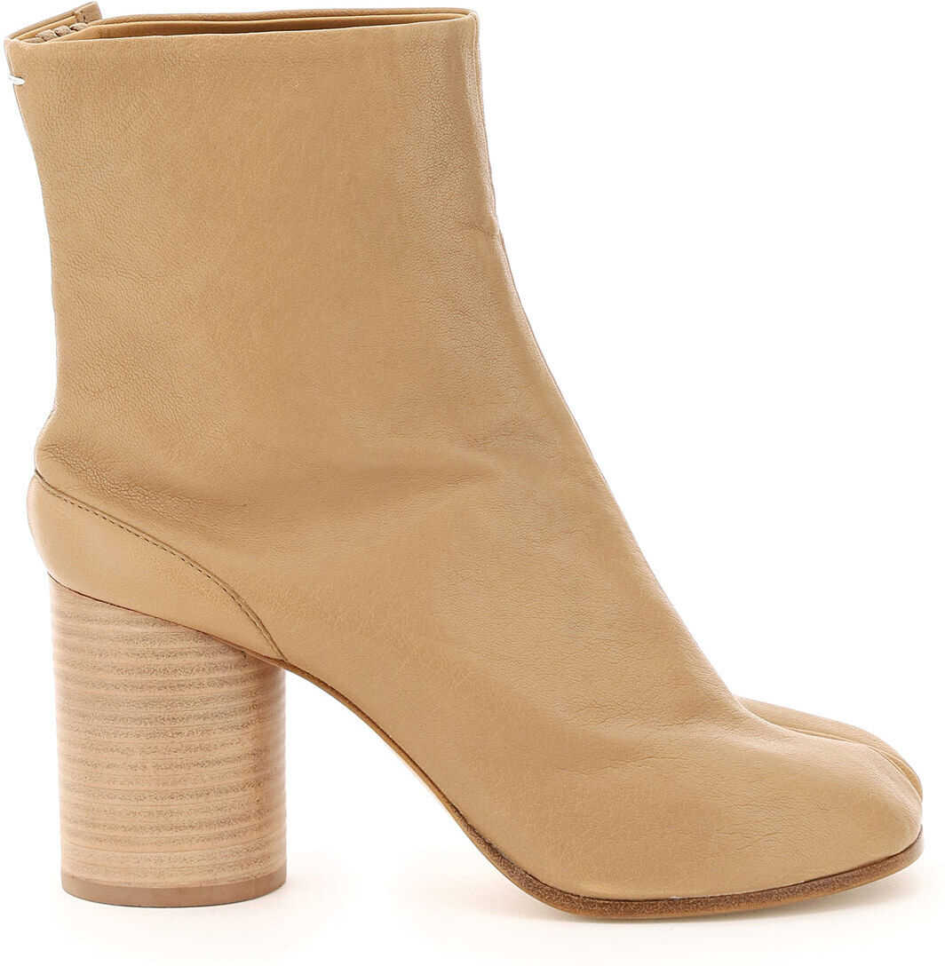 Tabi Leather Boots