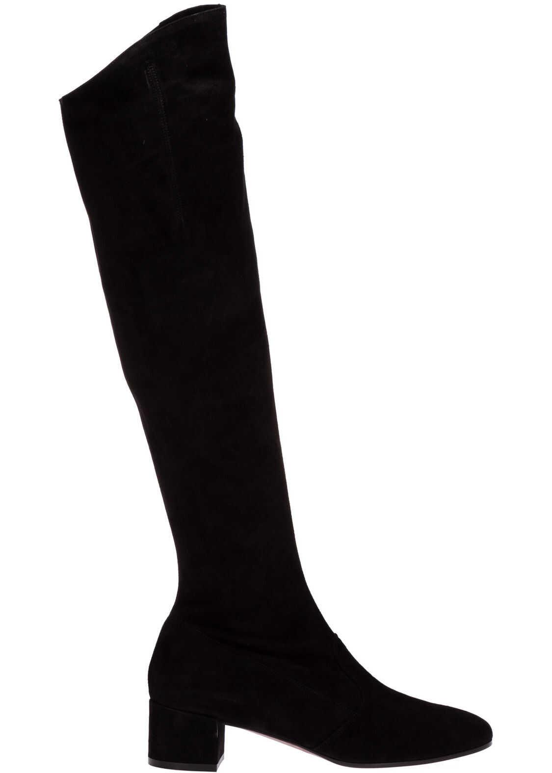L'Autre Chose Heel Boots LDL9797.40WP05401001 Black imagine b-mall.ro