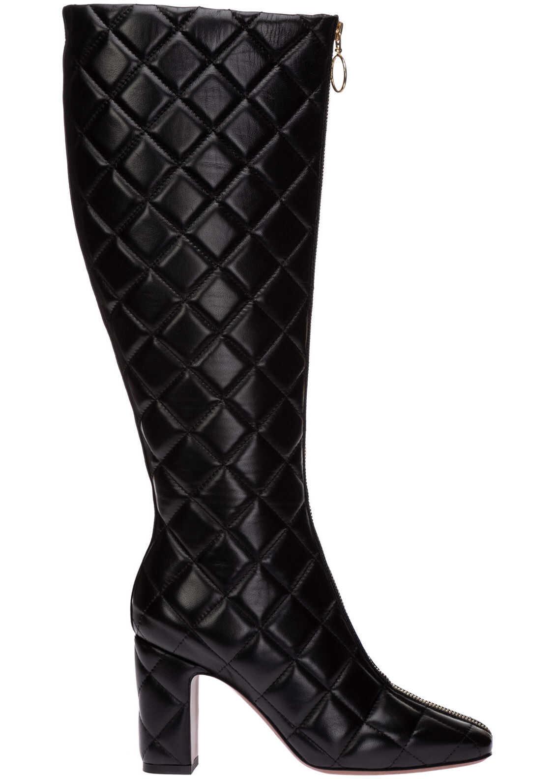 L'Autre Chose Heel Boots LDM089.85WP26151001 Black imagine b-mall.ro