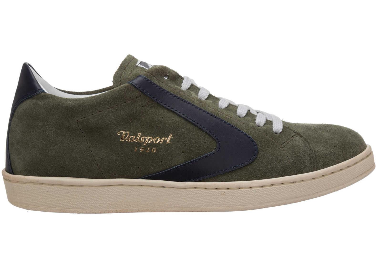 Valsport 1920 Sneakers Tournament VTSL001M55301 Green imagine b-mall.ro