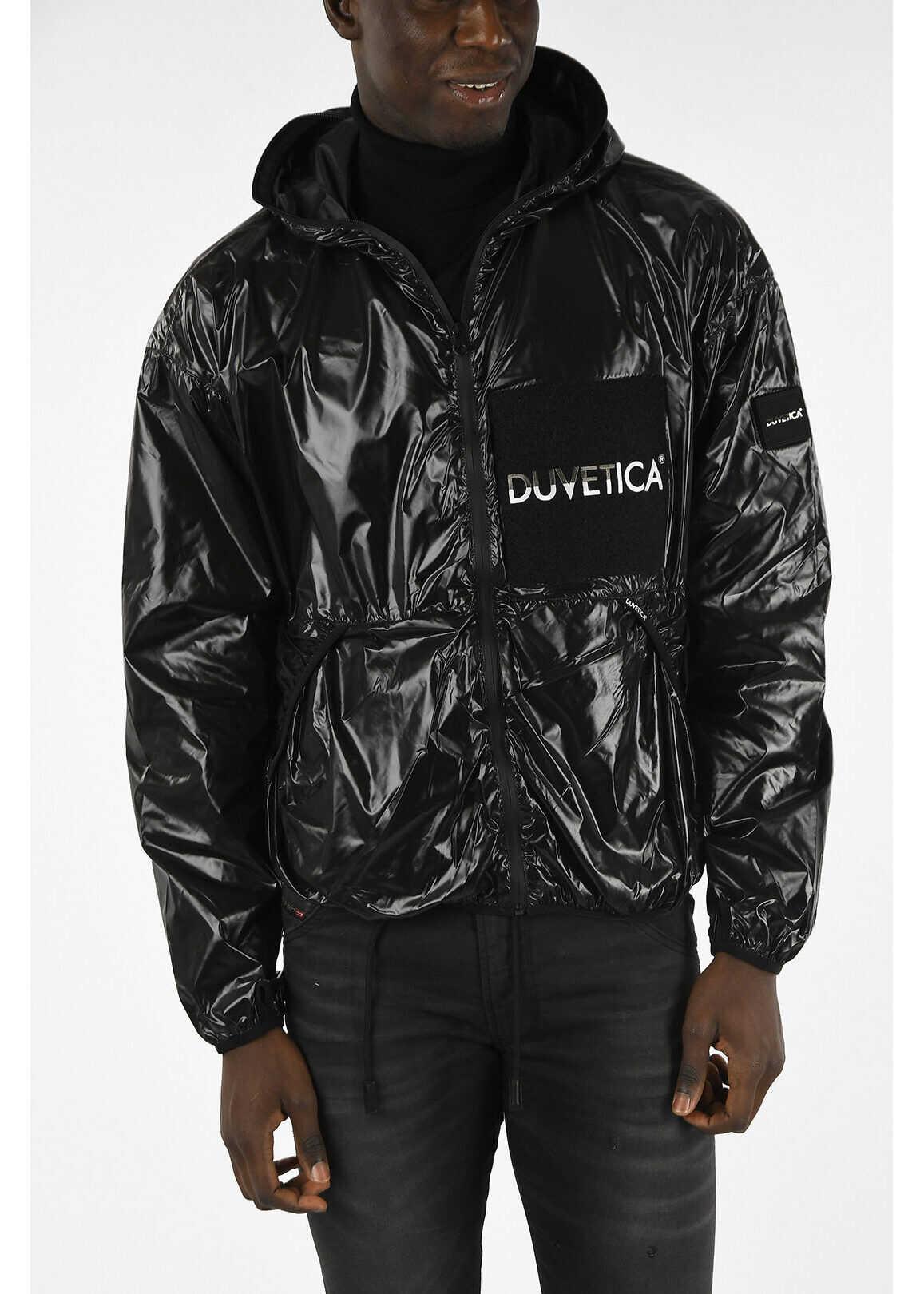 Duvetica Rain Proof CINNEIDIGH Jacket BLACK imagine