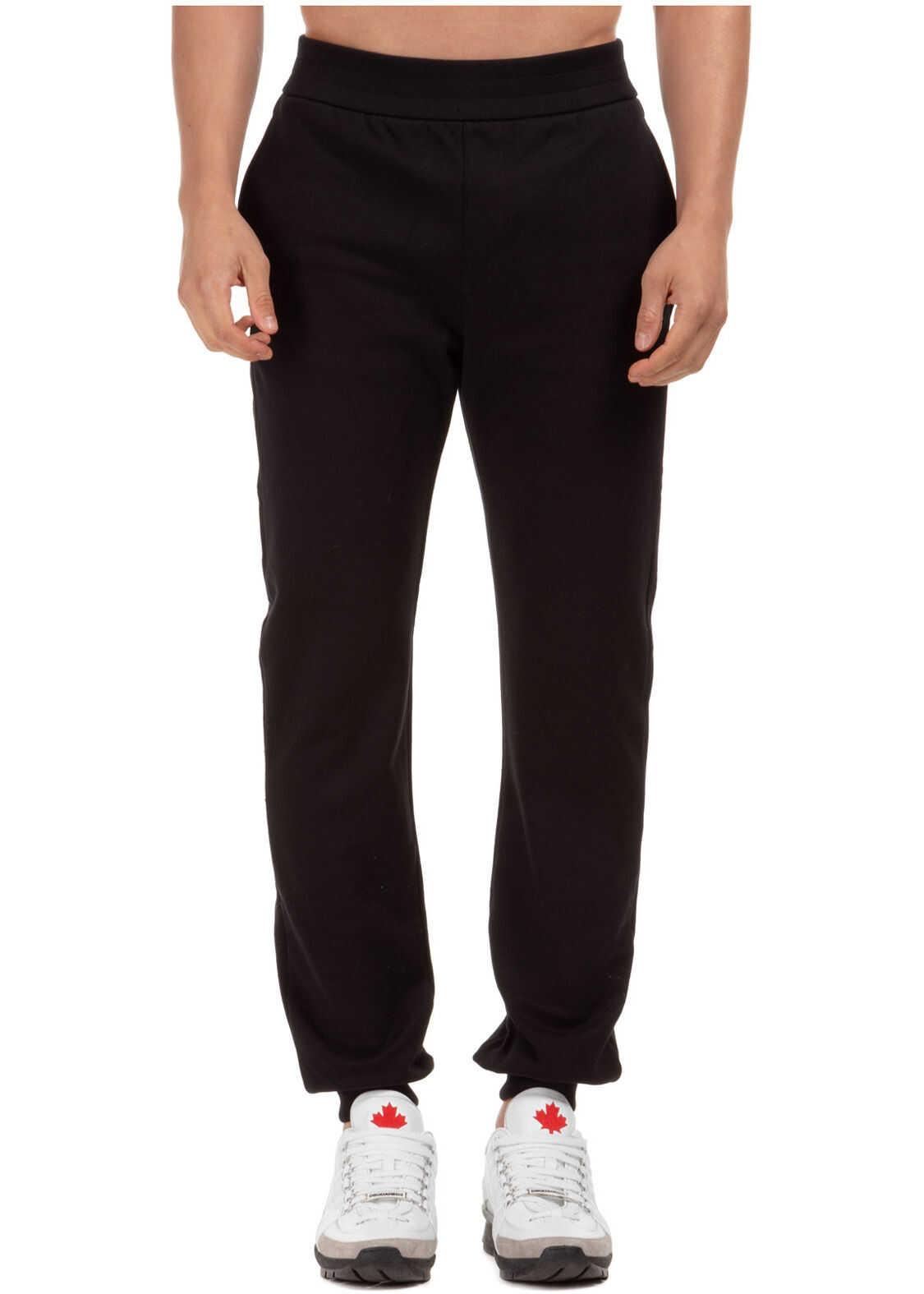 Versace Tracksuit Trousers Black imagine