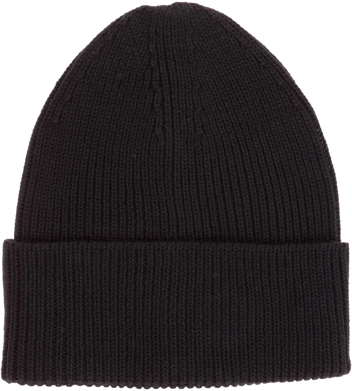 Y-3 Beanie Hat Black