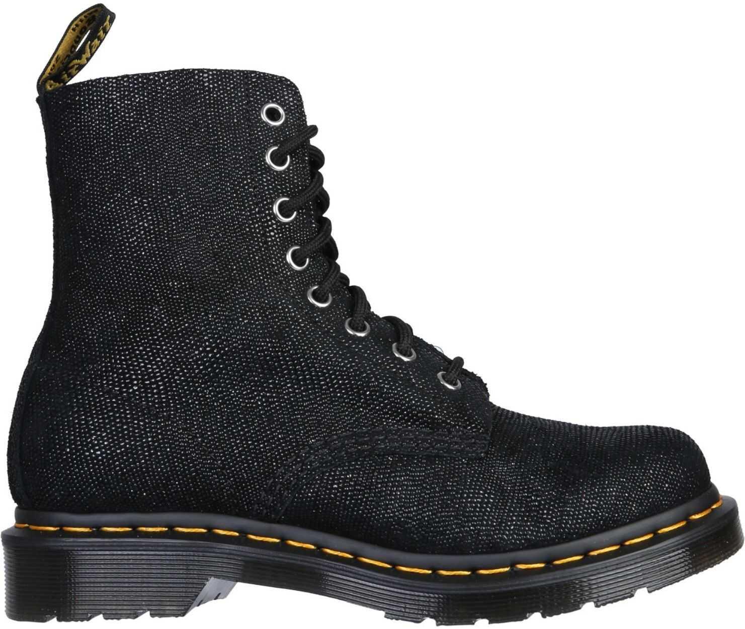 Dr. Martens Pascal Glitter Boots DMSPASCGLRBK26066001_BLACK BLACK imagine b-mall.ro
