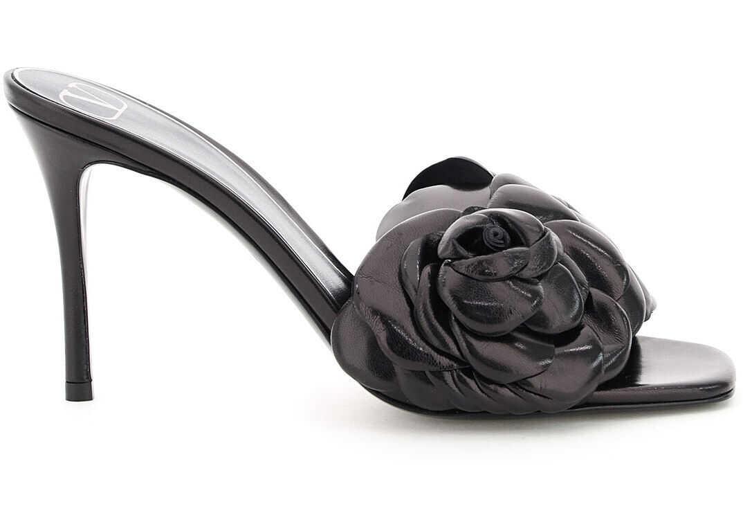 Valentino Garavani Mules In Leather Atelier Shoes 03 Rose Edition UW0S0AN5HLK NERO imagine b-mall.ro