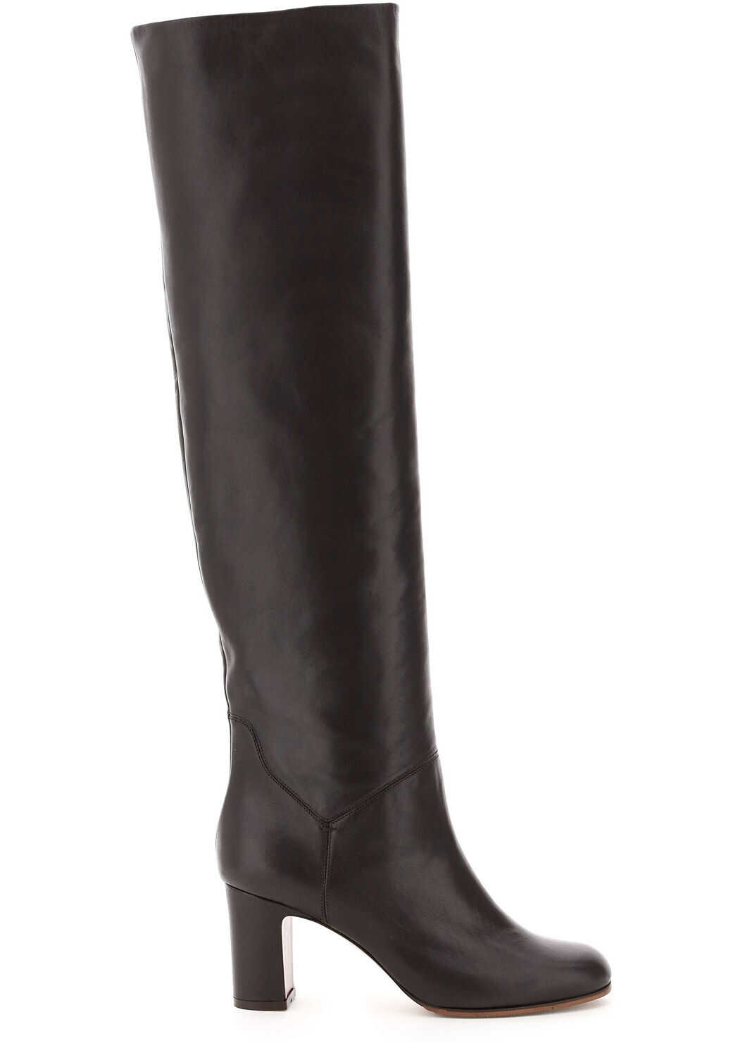 L'Autre Chose High Nappa Boots LD2551 80WP2615 T MORO imagine b-mall.ro