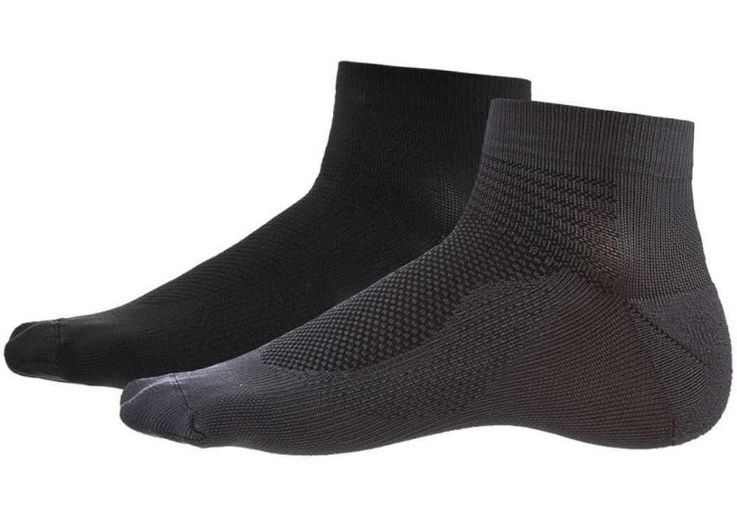 ASICS 2PPK Ultra Lightweight Quarter Sock Black imagine