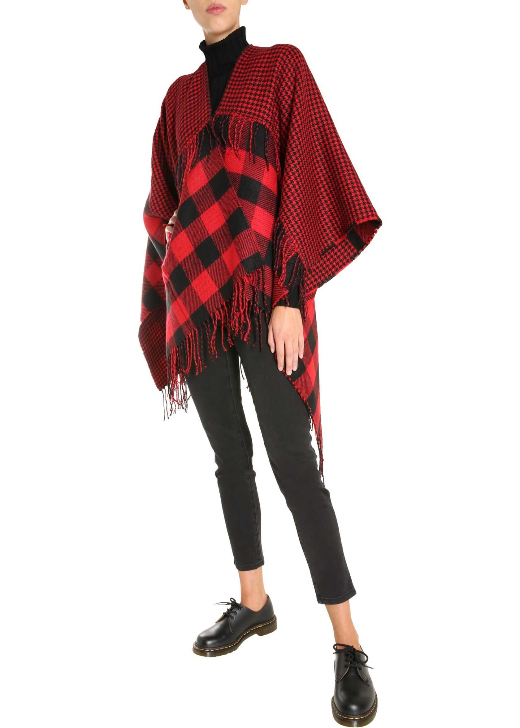 Woolrich Check Hood RED