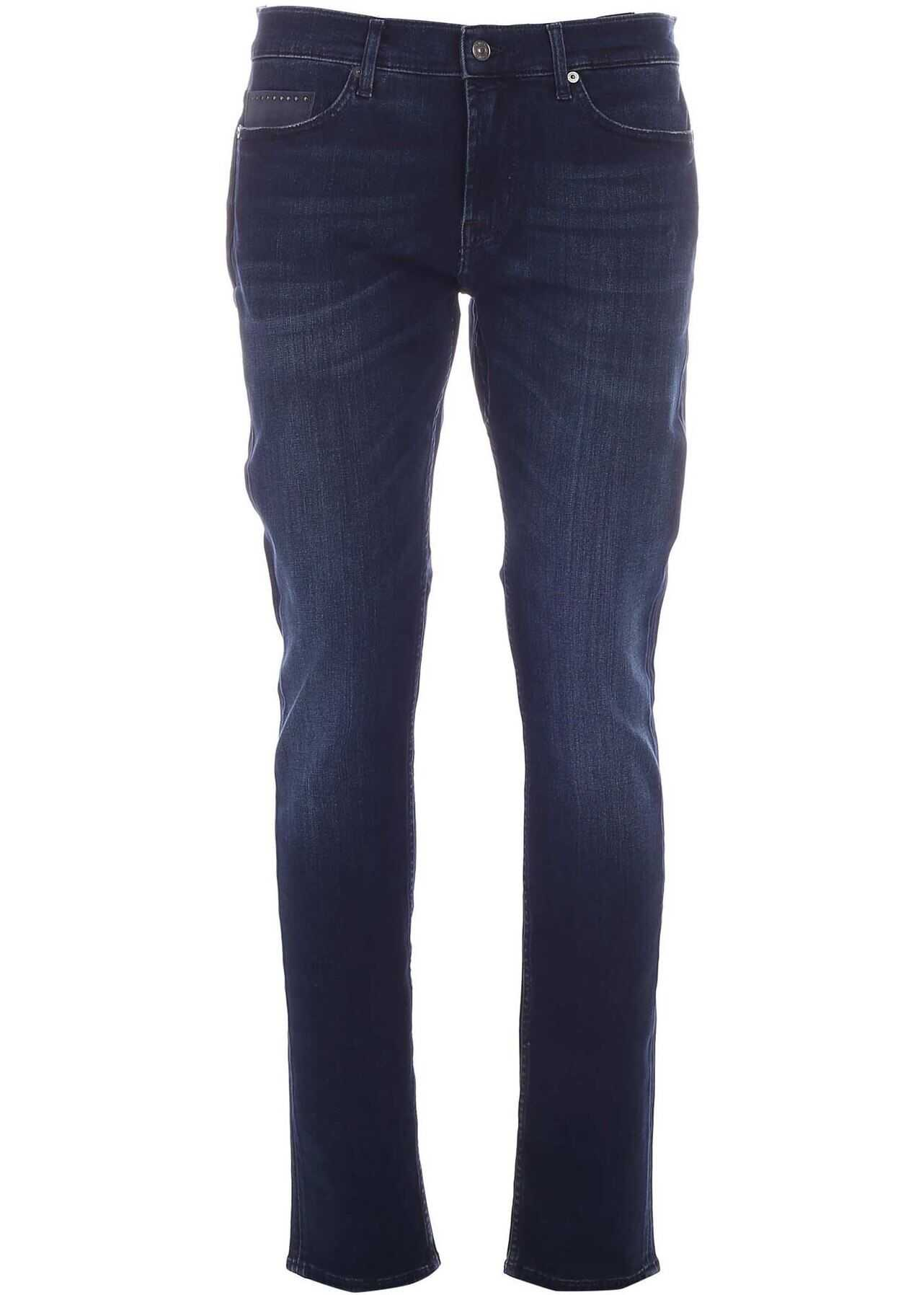 7 For All Mankind Special Edition Ronnie Jeans In Blue Blue imagine