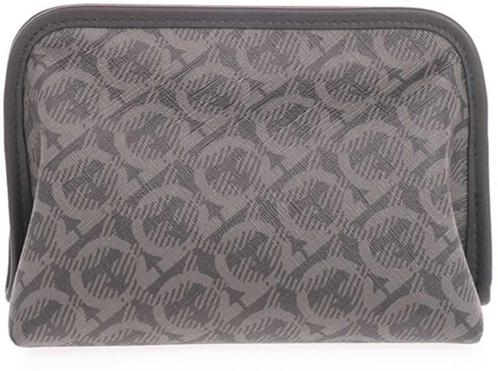 Salvatore Ferragamo Shoe Care Kit In Grey And Black 24A567736530001 Grey imagine b-mall.ro