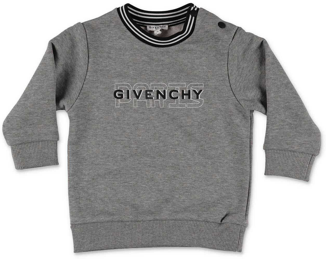 Givenchy Gray Sweatshirt With Logo Grey