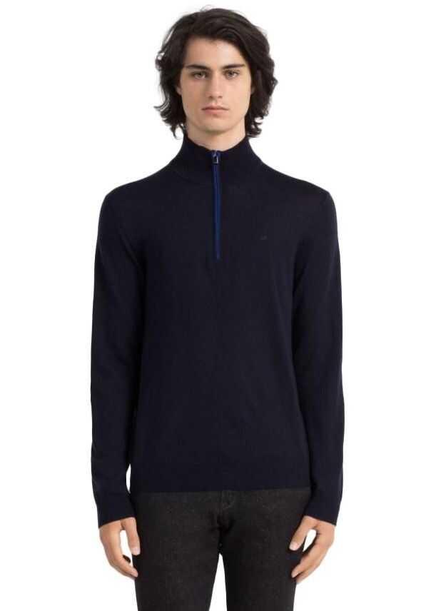 Calvin Klein Roma Sweater K30K300287 Bleumarin imagine