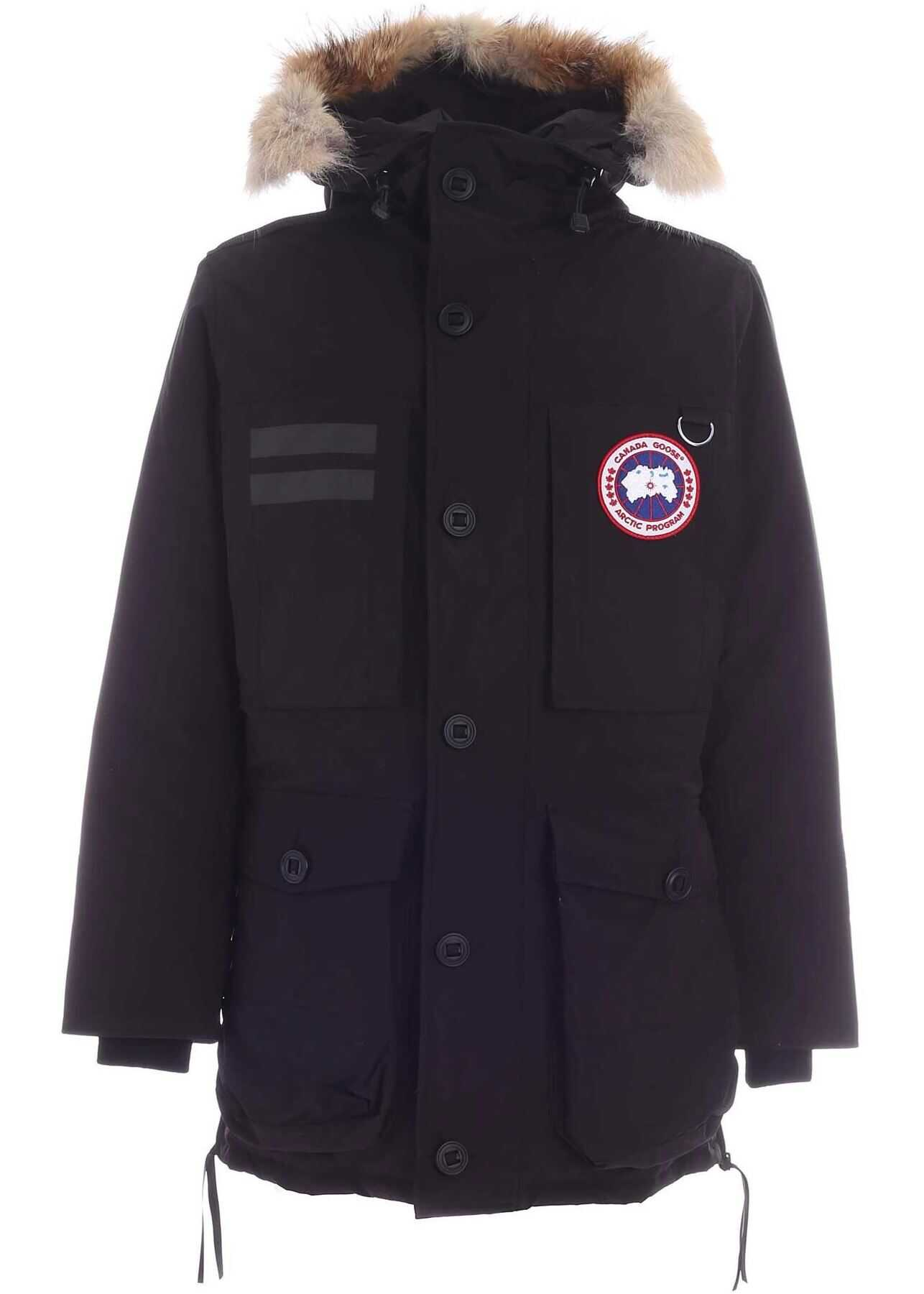 CANADA GOOSE Macculloch Parka In Black Black imagine