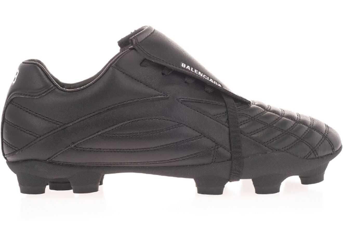 Balenciaga Soccer Sneakers In Black 637265 W3BR1 1090 Black imagine b-mall.ro