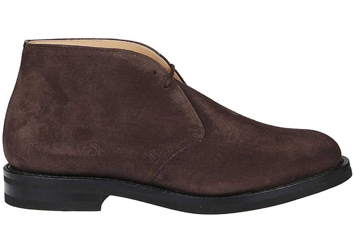 Church's Ryder Suede Desert Boots In Brown ETC212 9VE F0ADD Brown imagine b-mall.ro