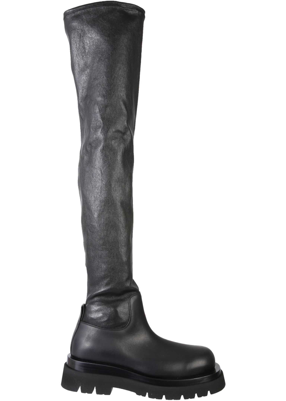 "Bottega Veneta ""Bv Lug"" Boots 630302_VBP711000 BLACK imagine b-mall.ro"
