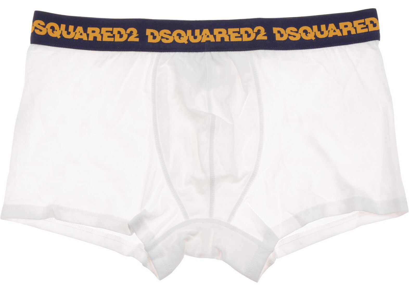 DSQUARED2 Boxer Shorts White imagine