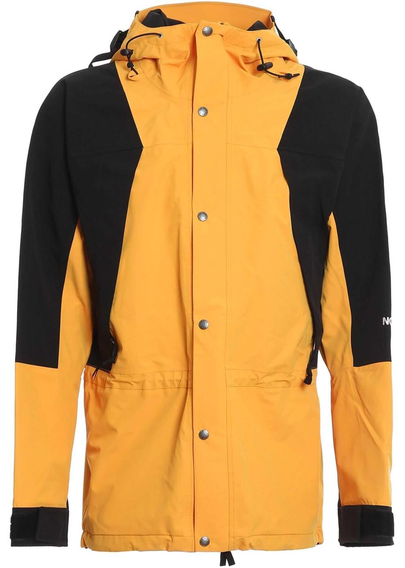 Windproof 1994 Retro Mountain Jacket In Yellow