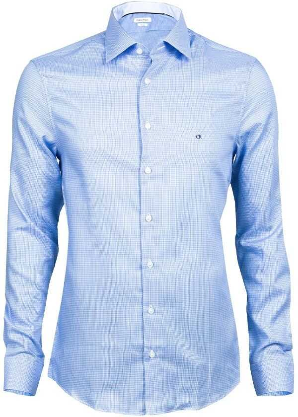 Calvin Klein Shirt K30K300080 Blue imagine