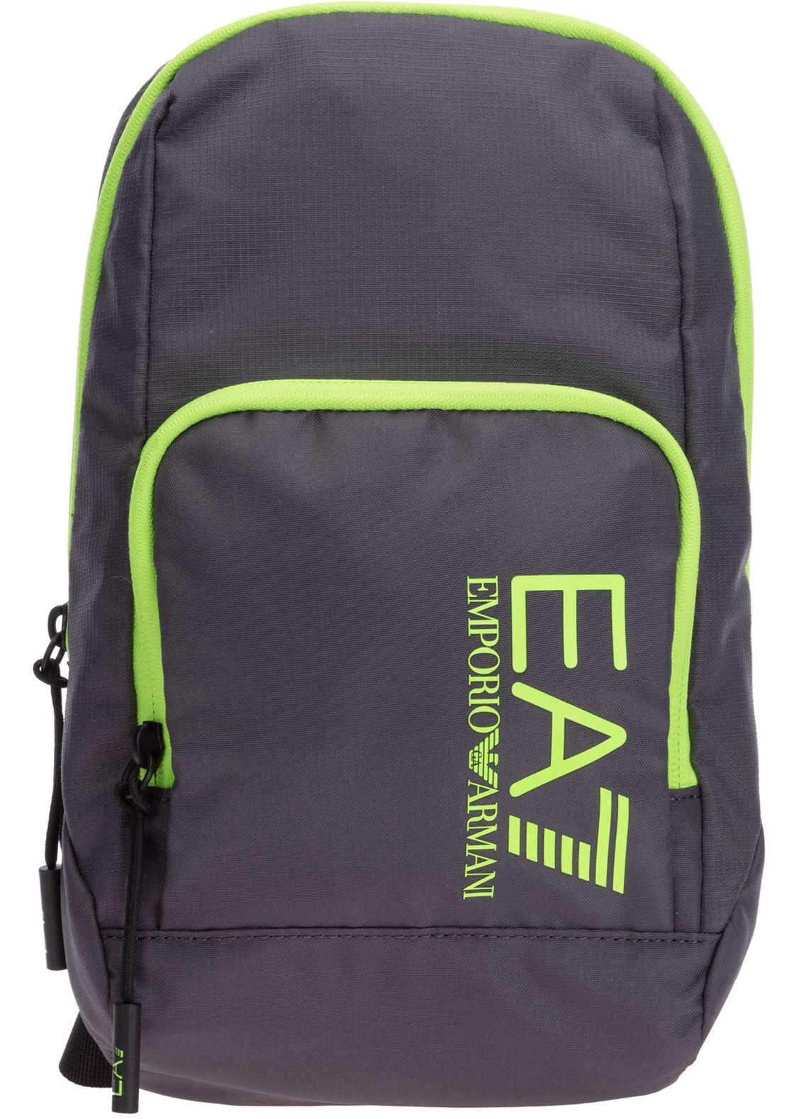EA7 Shoulder Bag 275970CC98010149 Grey imagine b-mall.ro