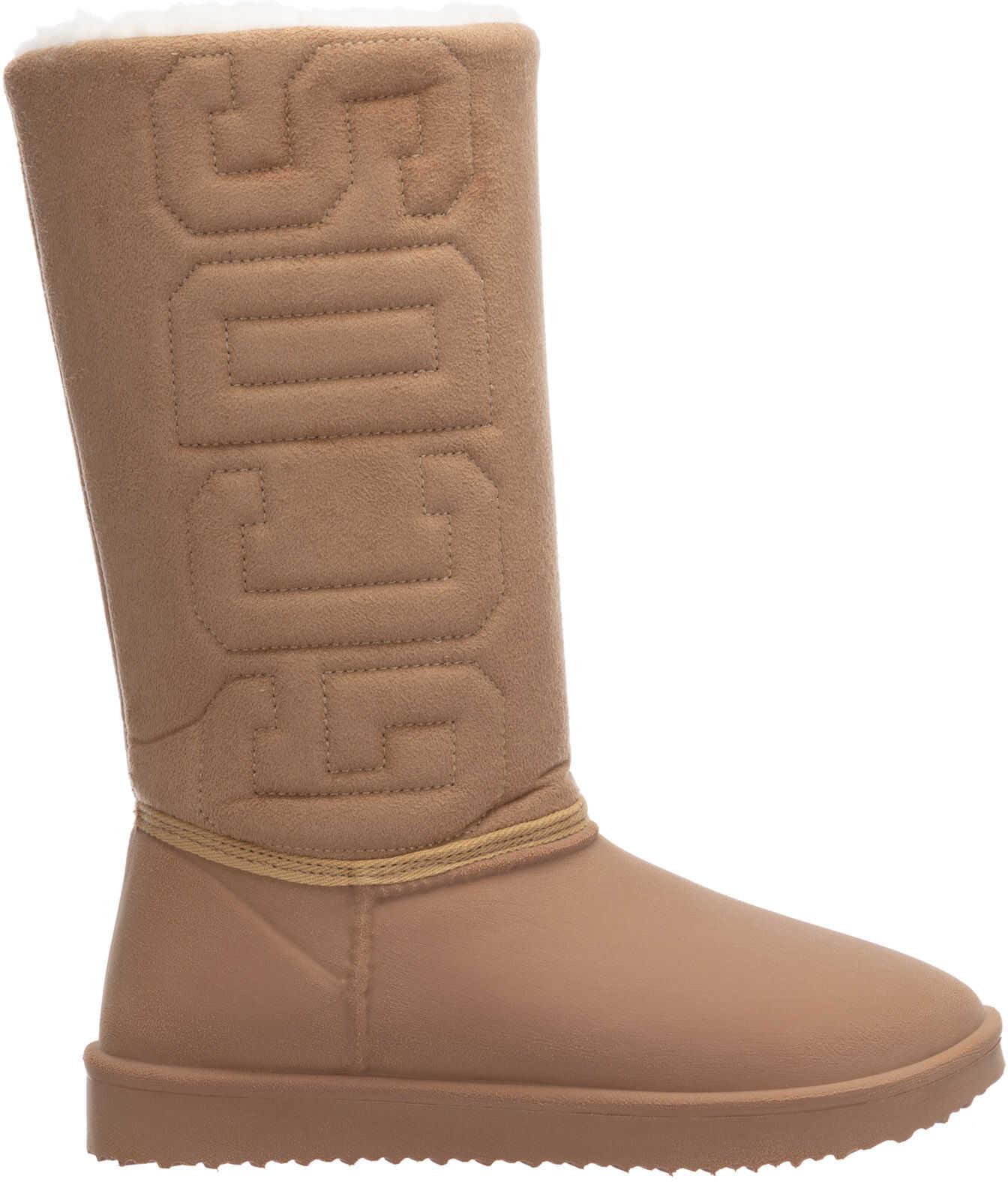 GCDS Boots Booties FW21W010098-13 Beige imagine b-mall.ro