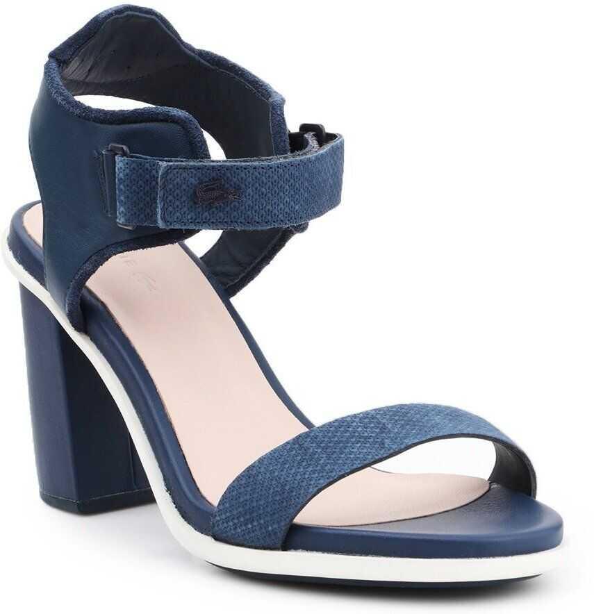Lacoste Lonelle Heel Sandal 116 1 CAW NAVY imagine b-mall.ro